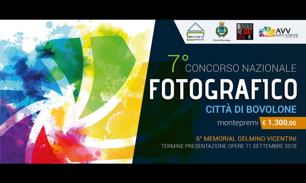7° Concorso Nazionale FOTOGRAFICO Città di Bovolone