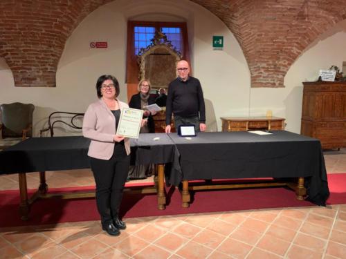 Premiato: Giovanna Rebonato